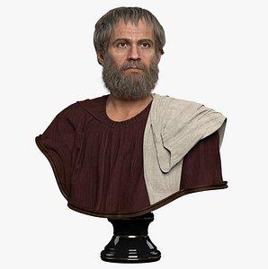 bust aristoteles 3D model