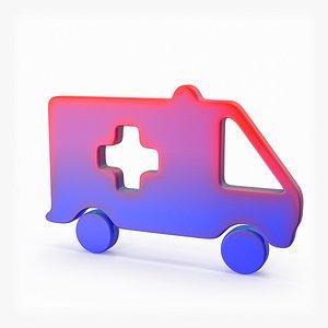 Logo Ambulance(1) 3D model