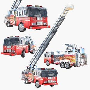3D Fire apparatus model