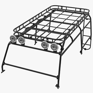 Exterior Roll Cage 3D model