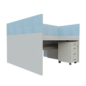 3D Duo workplace - Vepa