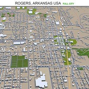 Rogers Arkansas USA model