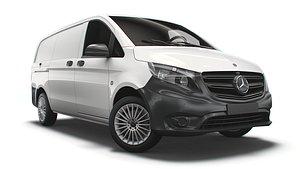 3D Mercedes Benz Vito Panel Van L2 2021