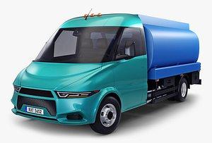 generic light truck tank 3D model