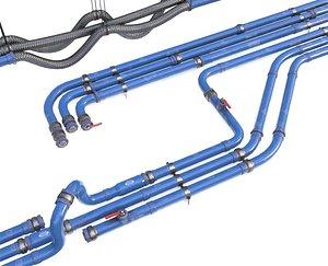 pipe modular 3D model