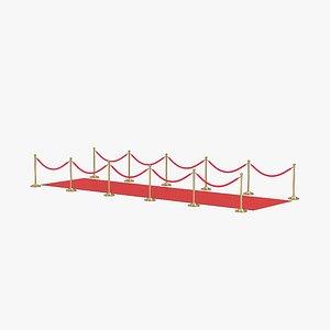 red carpet model