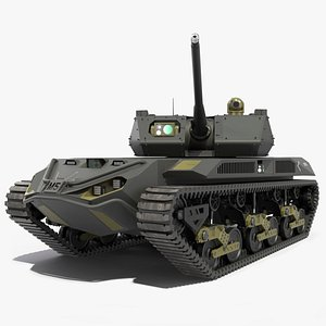 Ripsaw M5 Electric Tank Rigged 3D model