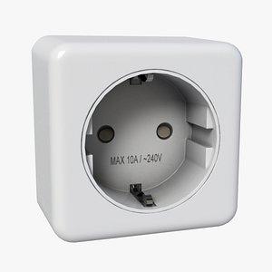 Plug Socket 3D