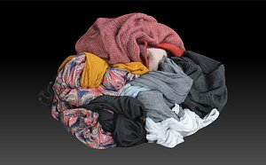 Pile of Cloths 5 3D