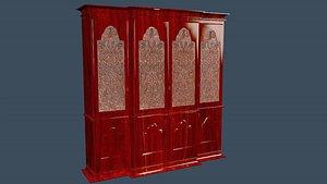 3D kitchen cabinet
