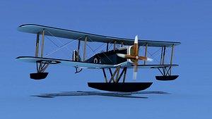 3D Airco DH-4 Royal Navy Seaplane
