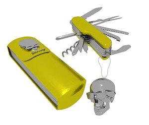 3D model swiss army knife