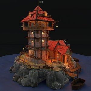 3D model asset castle