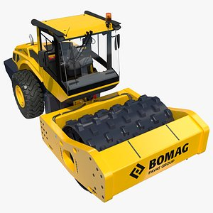 BOMAG BW226 PDH5 Single Drum Compactor New 3D model