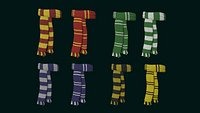 Hogwarts Scarf Collection - Harry Potter Character Costume