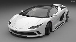 3D EON Generic sportcar concept