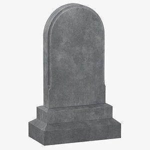 3D model tombstone 03
