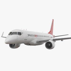 spacejet m100 retracted landing gear 3D model