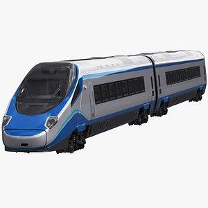 Train ETR610 Pendolino 3D