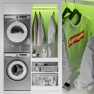 3D dryer cupboard sweatshirt