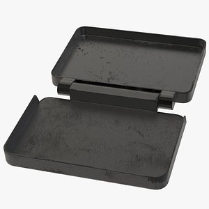 3D Little Metal Box model