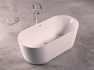 bathtub faucet 3D model