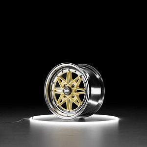 3D WORK EQUIP 03 Car wheel