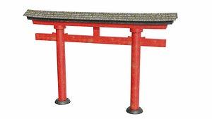 Inari torii gate 3D model