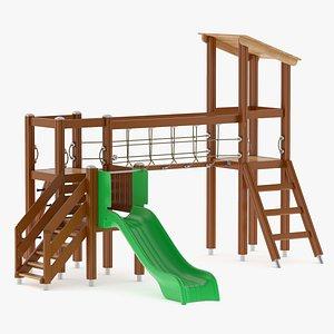 3D model Lappset Activity Tower 17