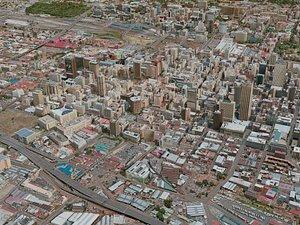 3D model johannesburg city