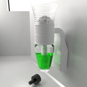 3D Fragrance Diffuser Plug with Bulb Half Liquid