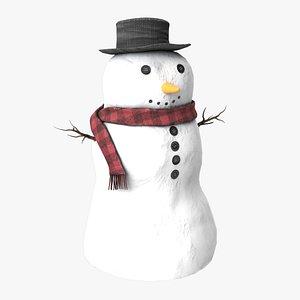 Snowman V2 3D model