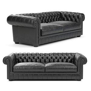 3D King sofa by Natuzzi