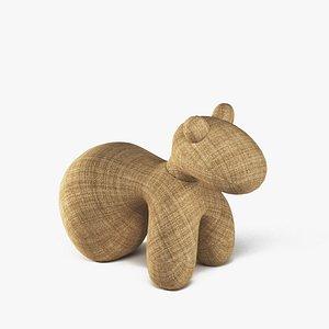 pony chair 3D model