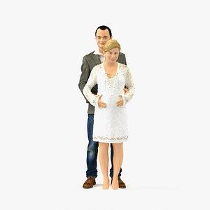 realistic human 3D