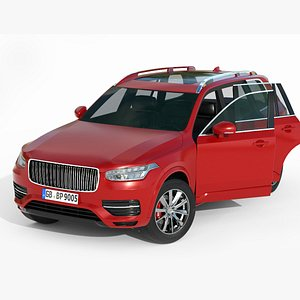 3D Volvo XC Lowpoly PBR Real Time model