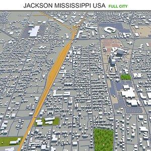 Jackson Mississippi USA model