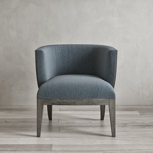 3D Mont 04 Lounge Chair model