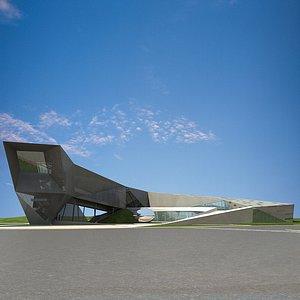museum 1 3D model