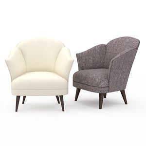 3D chair musette model
