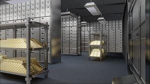 bank safe vault model