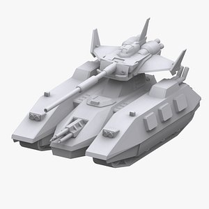 3D gundam federation model