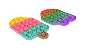 3D Pop It Fidget Toys Set