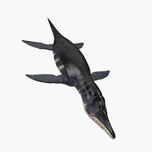 3D Liopleurodon model