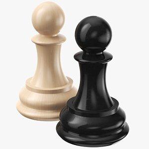 3D model Chessmen Pawn