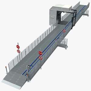 Smith Detection CIP 300 Conveyor Vehicle Inspection System 3D