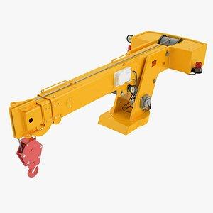 Industrial Carry Deck Crane Arrow 01 3D