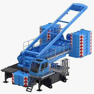 crane lr 1600 base 3D