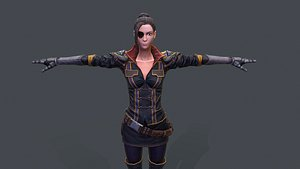 3D model Eva Gonzalez