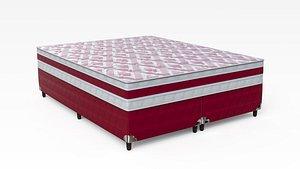 3D mattress bed furniture model